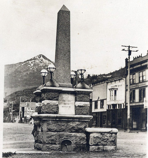 Rossland Heritage Commission - Heritage Places - Father Pat Monument