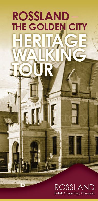 Heritage Rossland Walking Tour Brochure