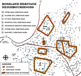 Rossland Heritage Neighbourhoods